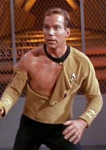 Not appropriate attire, Captain.